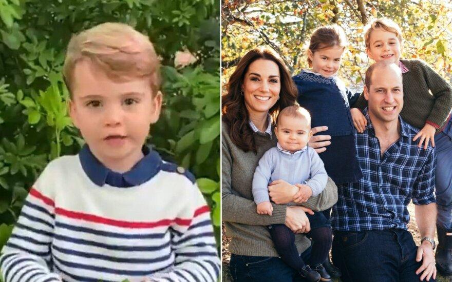 Princas Louisas ir karališkoji šeima / Foto: stopkadras, AP / Scanpix