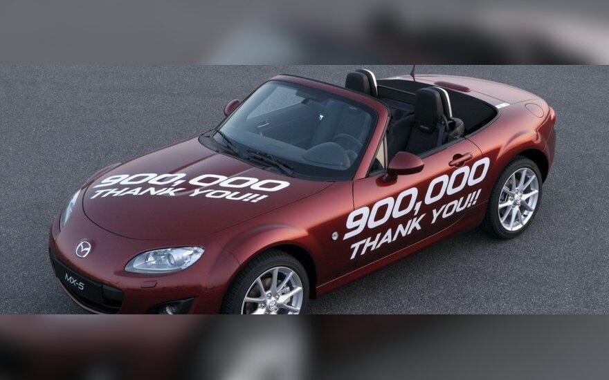 Jubiliejinis Mazda MX-5
