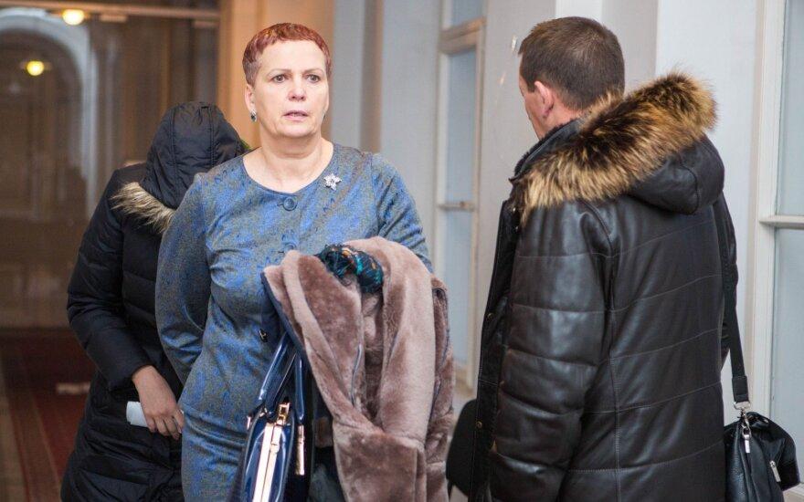 Gražina Mataitienė (priekyje) ir Jurgita Mataitytė