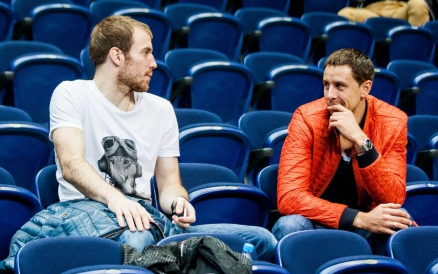 Prienų komandos treneris V. Šeškus: pirmadienį turėtume sulaukti M. Lukauskio