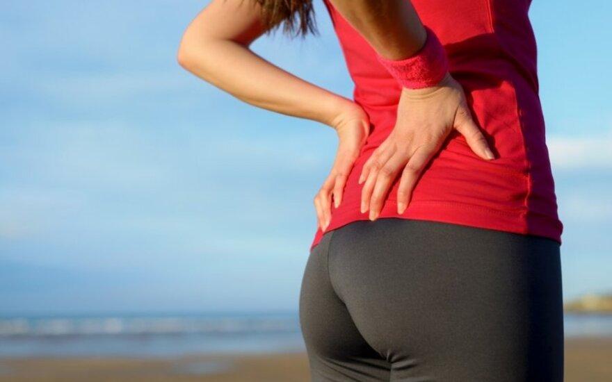 Dažniausios nugaros skausmo priežastys