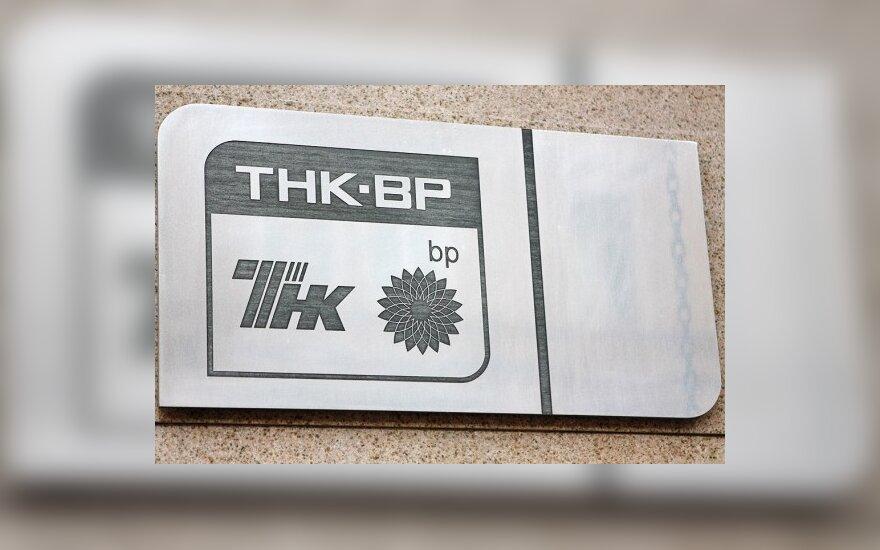 """TNK-BP norėtų įsigyti dalį """"Mažeikių naftos"""""""