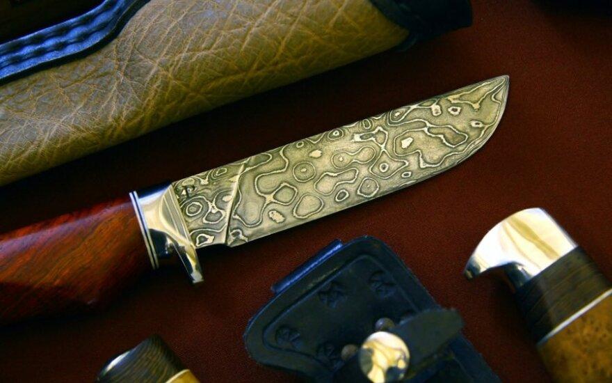 Peilis – ir ginklas, ir meno kūrinys