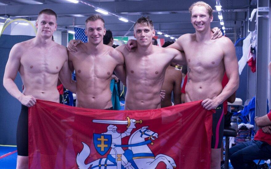 Arti svajonės buvęs Lietuvos kvartetas liko be finalo, bet su bilietu į Tokijo olimpiadą