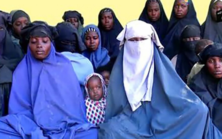 Boko Haram pagrobtos moksleivės