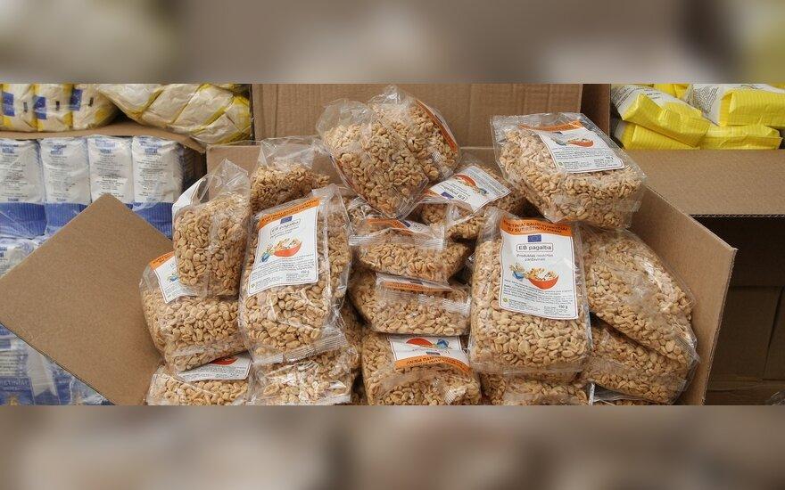 Vėluos parama vargstantiems: kovą gaus tik dėžutę konservų ir pakelį sausų pusryčių