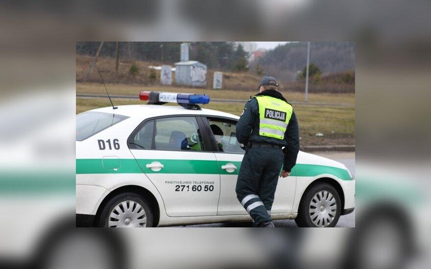 Savaitgalį Vilniuje policija nubaudė 134 greičio mėgėjus