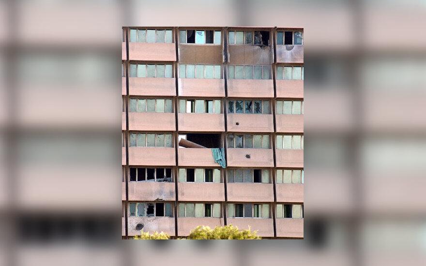 """Bagdade apšaudytas """"Rashid"""" viešbutis"""
