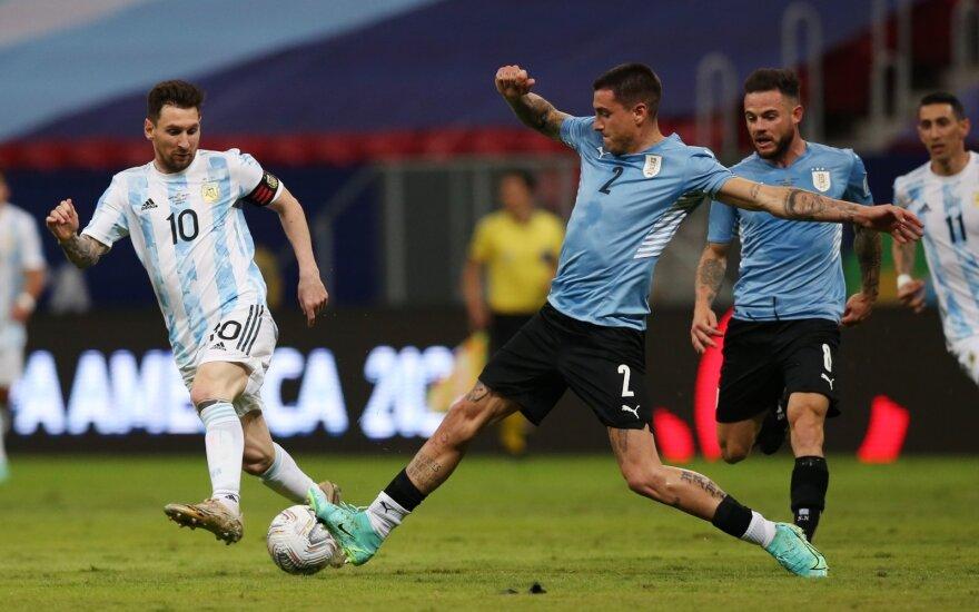Argentinos ir Urugvajaus rinktinės