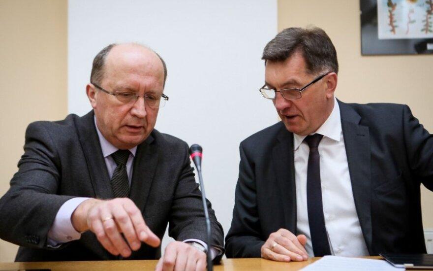 Andrius Kubilius and Algirdas Butkevičius