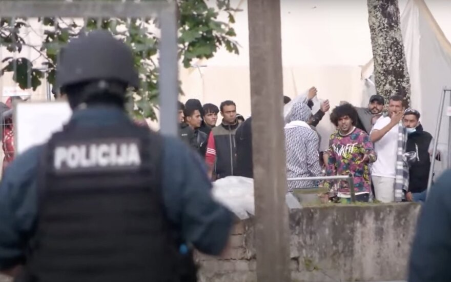 Migrants crisis: unrest starts at Rudninku training ground