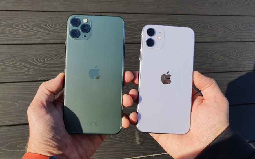 iPhone 11 ir iPhone 11 Pro Max