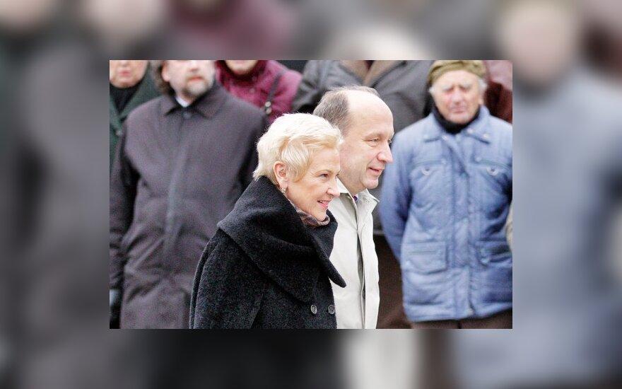 Irena Degutienė, Andrius Kubilius