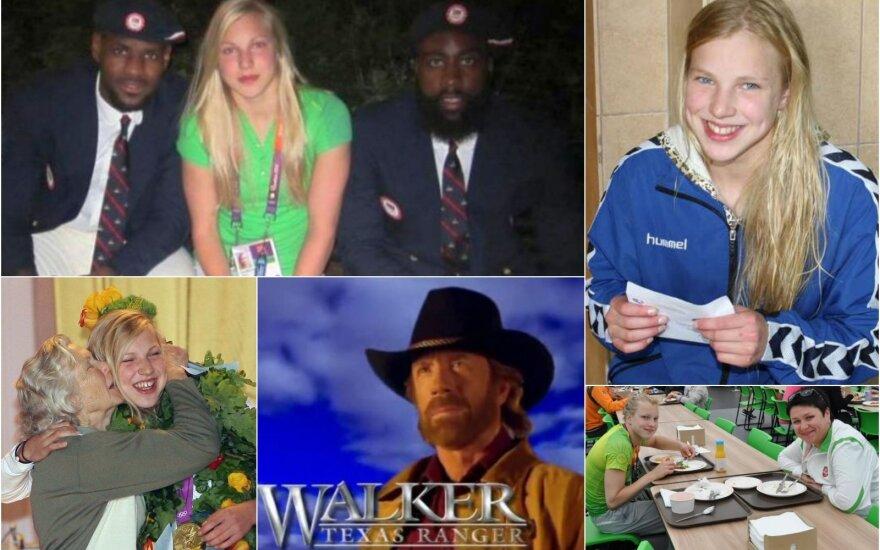 Unikalu: pirmasis Rūtos interviu – apie spaudimą, Chucką Norrisą ir norą garsinti Lietuvos vardą