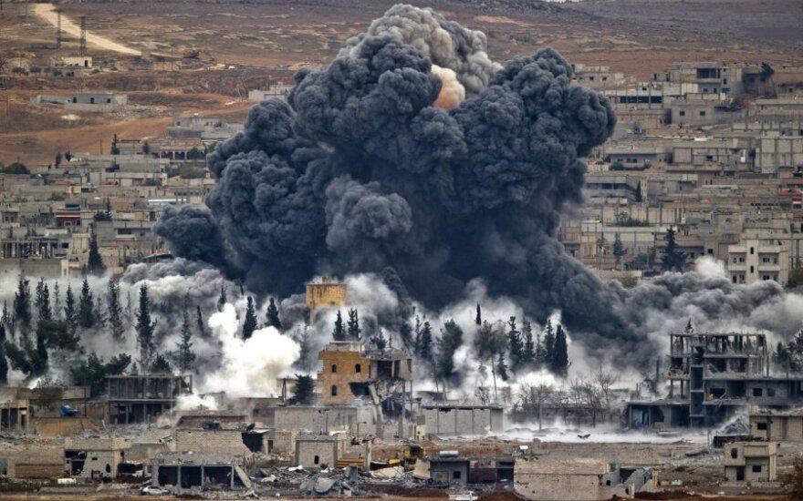 JAV prakalbo apie esminius pokyčius Sirijoje