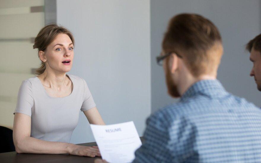Sėkmė darbo pokalbyje priklauso nuo šių 4 dalykų: vienam iš jų iš anksto nepasiruošite