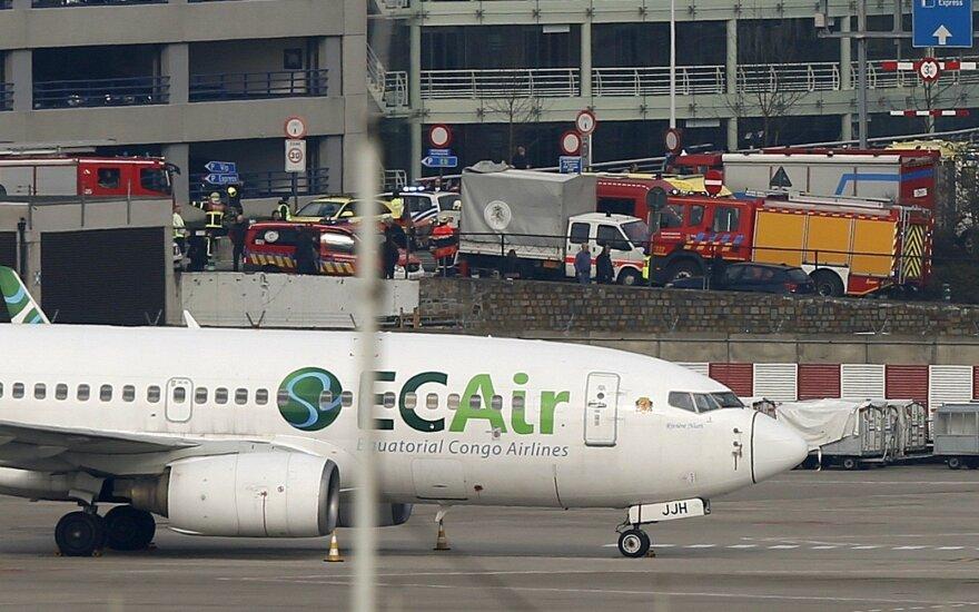 Ambasada dar neturi informacijos, ar per sprogimus Briuselyje galėjo nukentėti lietuviai