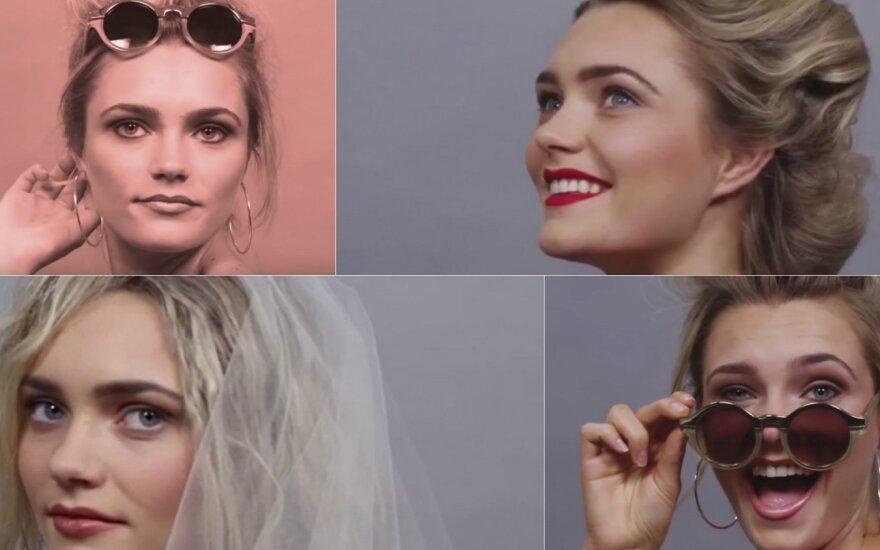 Kaip keitėsi moters įvaizdis per 100 metų