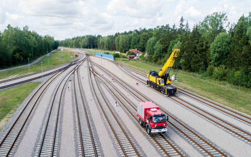 Lietuviai ir lenkai pirmą kartą surengė geležinkelių avarijos mokymus