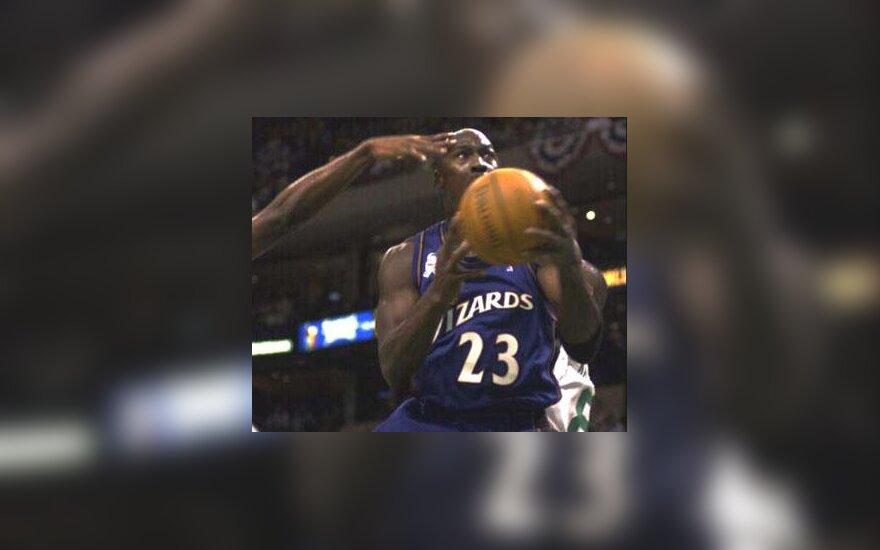 "Michael Jordan, ""Wizards"""
