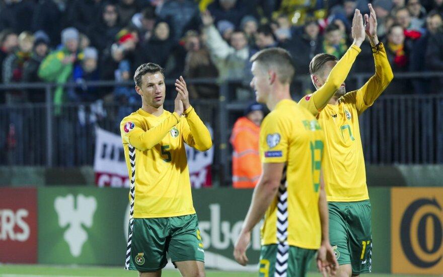 Lietuvos futbolo fanai sukūrė vaizdo klipą, skirtą rinktinės žaidėjams ir treneriui bei federacijos vadovui