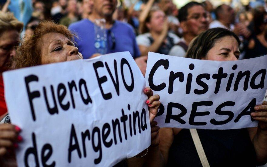 "Argentinos prezidentas: šalies ekonomika – ""defolto"" stadijoje"
