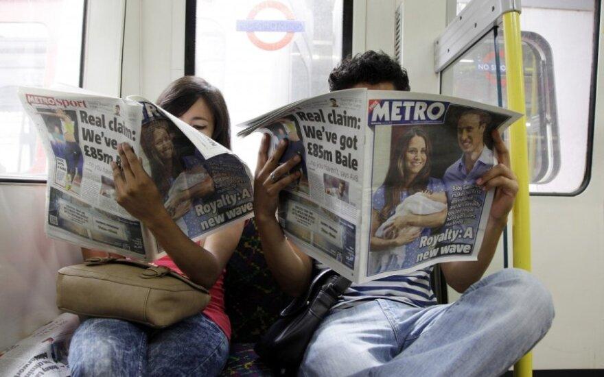 Londone streikuoja metro darbuotojai