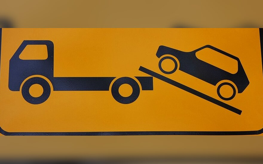 Teismas: policija turi atlyginti žalą už neteisėtai nutemptą automobilį