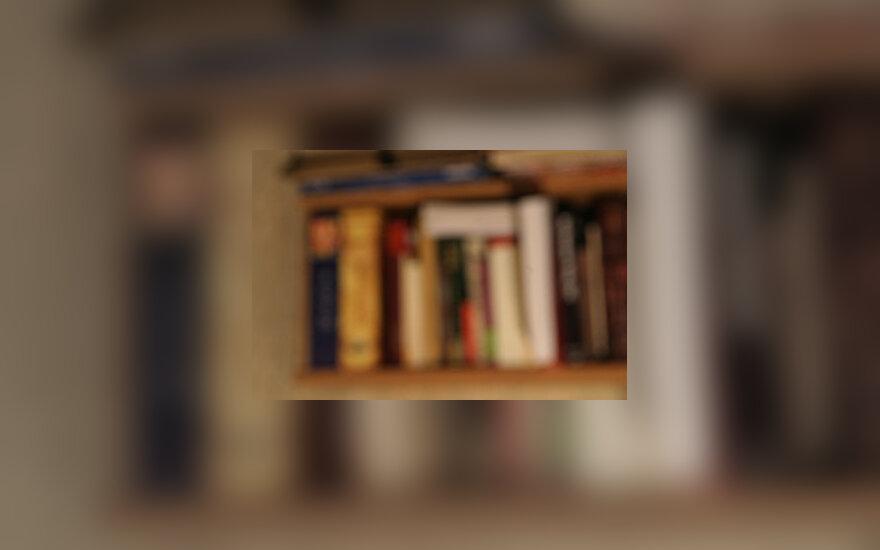 Knygos, knygų lentyna