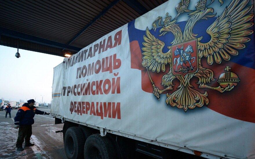 Donbase įvyko sprogimas keleiviniame autobuse