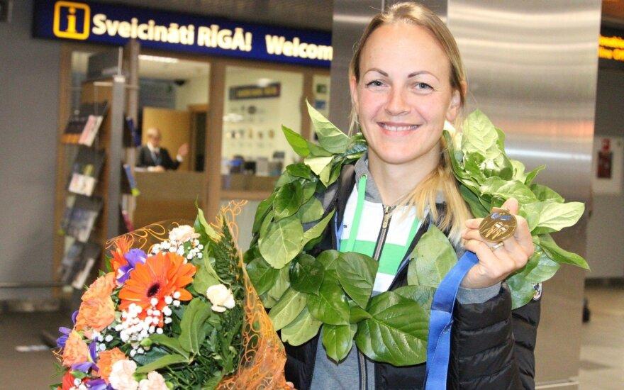 S. Krupeckaitė norėjo dviejų medalių, o parsivežė tris