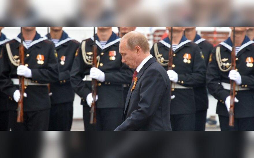 V. Putino Rusija. Agresija Ukrainoje: kas laukia jos architektų