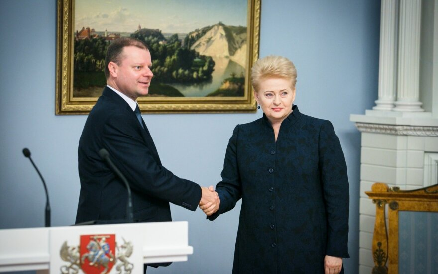 President's position runs counter to rule of law principles, Lithuanian PM says