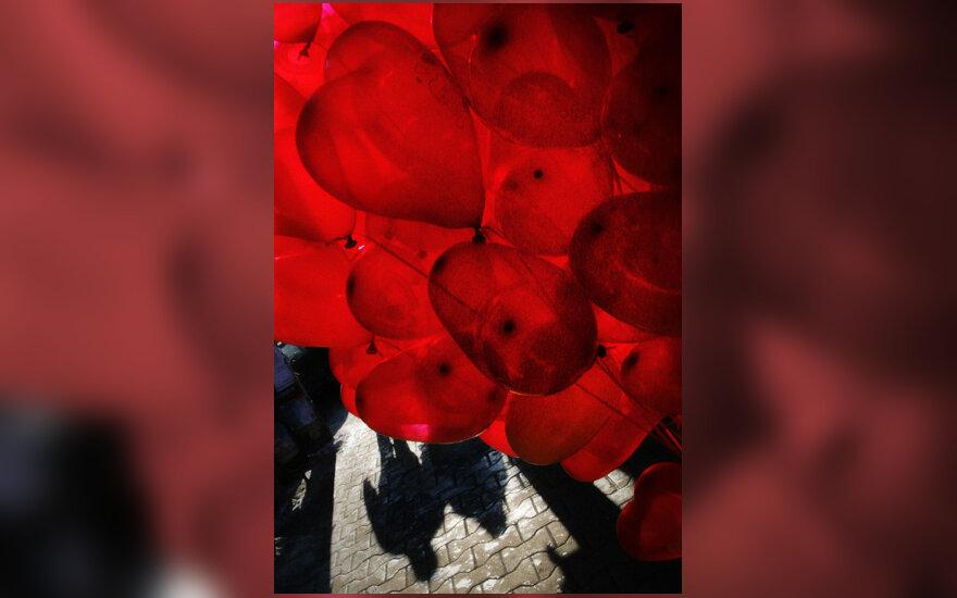 Balionai, Valentino diena