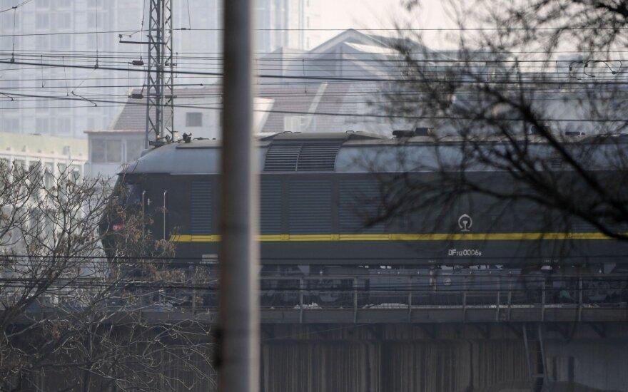 Kim Jong Uno traukinys