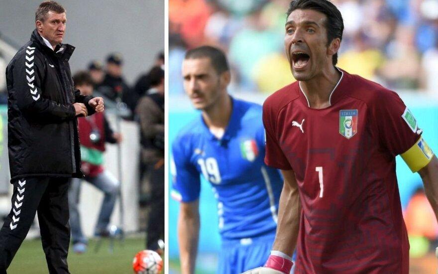 Igoris Pankratjevas ir Gianluigi Buffonas (Reuters/Scanpix/Sipa Press nuotr.)