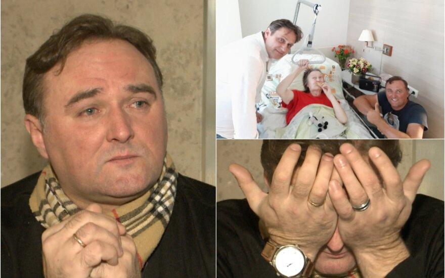 Dainininkas Milgedas Aleksandravičius neteko mamos