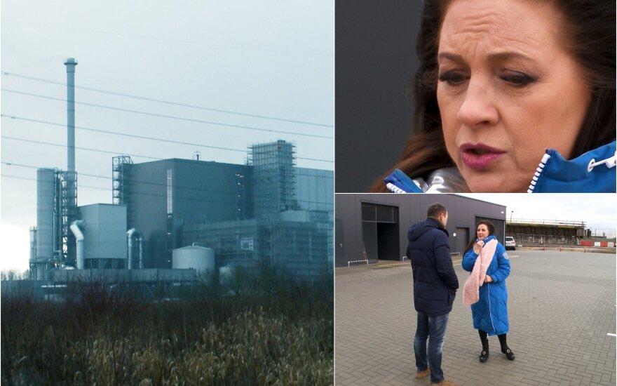 Liveta Kazlauskienė baiminasi kaimynystėje išdygusios jėgainės