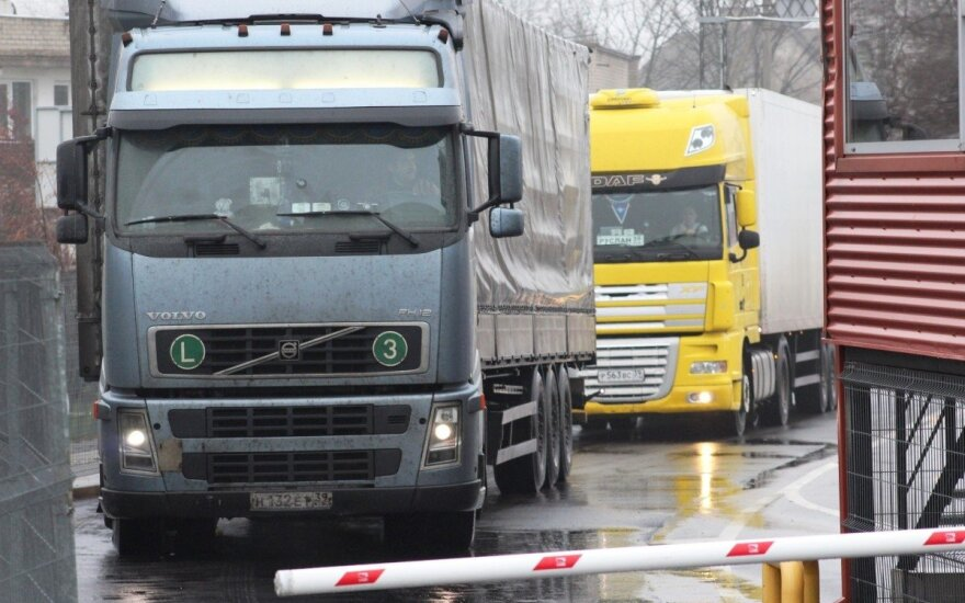 Nesklandumai Rusijos pasienyje: Lietuvos vežėjai susiduria su kitokia realybe