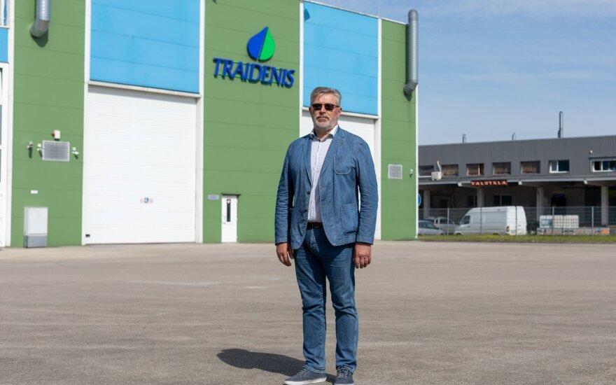 """Vilniaus prekybos, pramonės ir amatų rūmų prezidentas,  įmonės """"Traidenis"""" įkūrėjas Sigitas Leonavičius"""