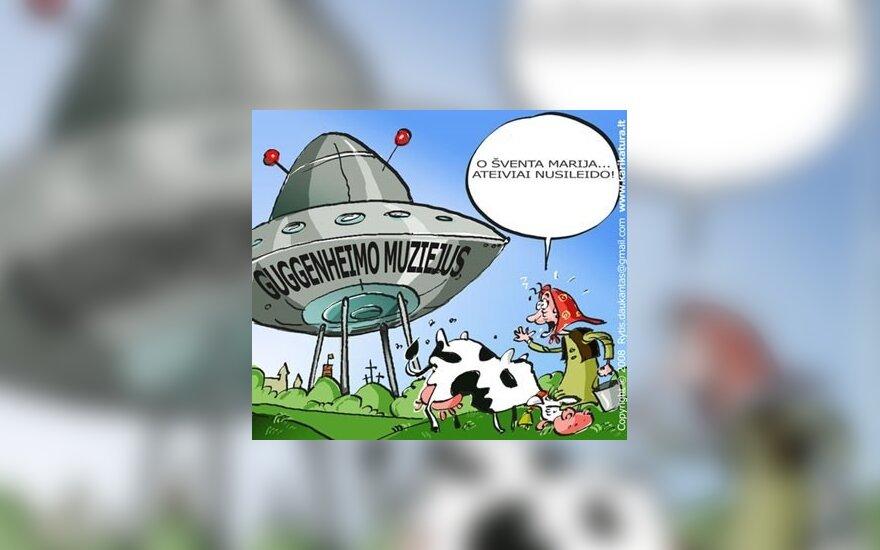 Guggenheimo muziejaus Vilniuje nebus, o pinigai jau dingo