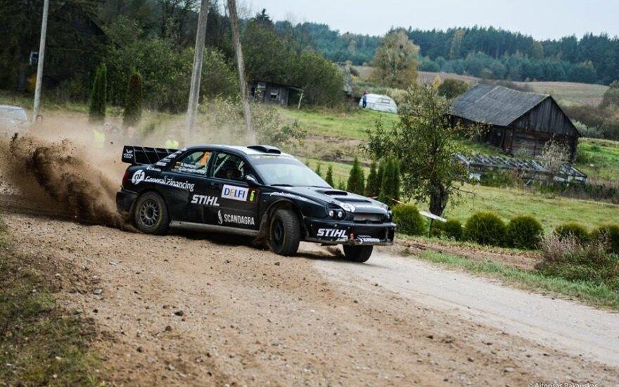 Rally Classic 2016 finišas (A. Rakausko nuotr.)