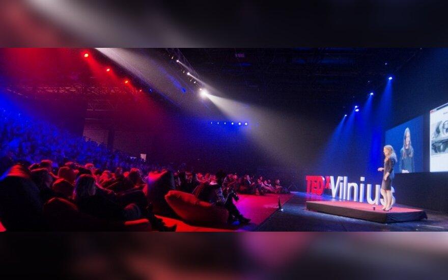 """Konferencijos """"TEDxVilnius"""" akimirka"""