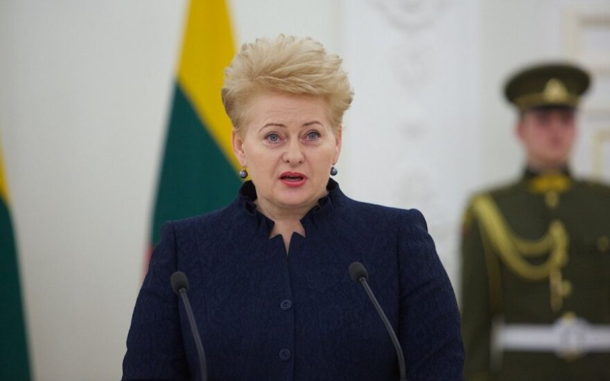 Lithuanian president on Holocaust Day: Some people in Europe won't acknowledge today's aggressor