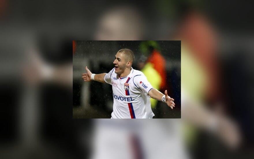 """Karimas Benzema (""""Lyon"""")"""