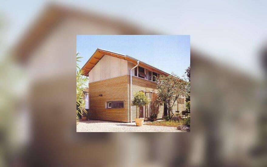 Namas iš išorės