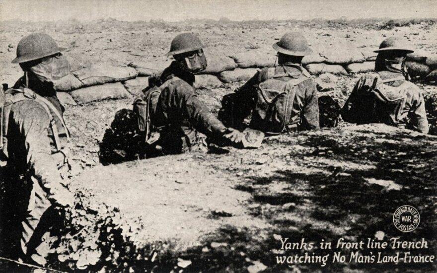 JAV kariai fronto linijose, Pirmas pasaulinis karas