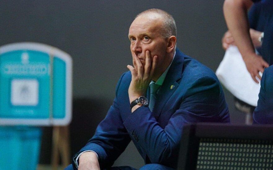 """Kurtinaitis pasiekė Madridą ir vadovaus """"Chimki"""" per Eurolygos rungtynes"""