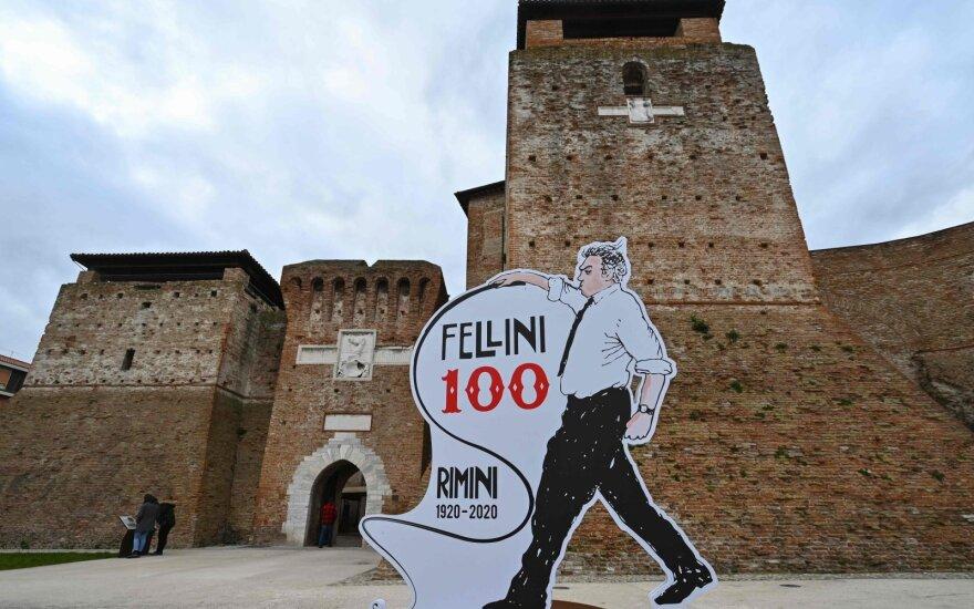 Federico Fellini šimtmečiui skirta paroda Rimini