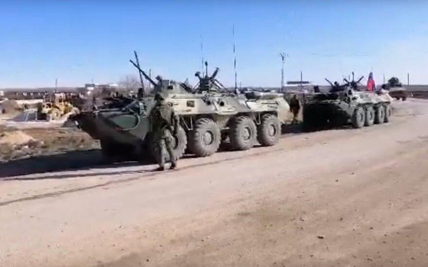 Sirijoje – dar viena konfrontacija tarp JAV ir Rusijos pajėgų